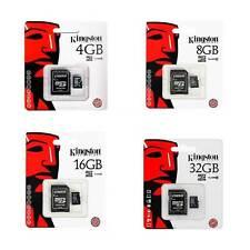 Scheda di Memoria Micro SD SDHC Originale Kingston 4GB 8GB 16GB 32GB Memory Card