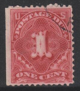 USA - 1894, 1c Postage Due (No Wmk) (Perf 12) stamp - F/U - SG D269