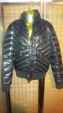 Roberto just Cavalli Black Padded Mens puffer Jacket (Faulty Zip) With Poppers