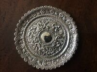 ANTIQUE PERSIAN/INDIAN SILVER DISH