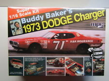 MPC 1:16 Scale Buddy Baker's #71 1973 Dodge Charger Nascar Model Kit New Sealed