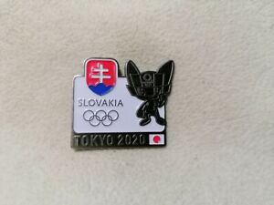 NOC Slovakia Olympic Committee for Olympic Games Tokyo 2020 pin