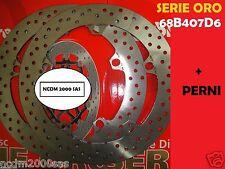 KIT DE 2 DISCOS BREMBO ORO + PERNOS 68B407D6 DELANTEROS BMW R 1200 GS 13 >