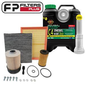 WK71CAB Wesfil Filter kit + 7L Penrite 5W30 Fits Nissan Navara NP300 2.3L 2015On