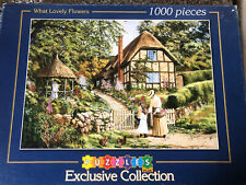 Puzzles Plus What Lovely Flowers By Steve Cummins 1000 Piece Jigsaw Puzzle