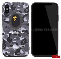 A Bathing Ape Bape Card Camo Phone Case For iPhone XS MAX XR X 8 7 Plus 6S 6
