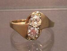 Ring mit Brillanten 0,65 ct. 14 K/585er Gelbgold Gr. 56 Damen -sehr hübsch-