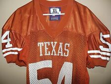 TEXAS LONGHORNS GAME USED  FOOTBALL JERSEY