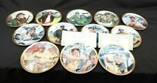 New ListingJohn Wayne Limited Edition Fine Porcelain Franklin Mint Decorative Plates 8 1/4""