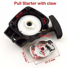 Pull Start Starter w Pawl 22.5cc 23cc 25cc 26cc Zooma Goped Mosquito Gas Scooter