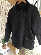 Black BARBOUR jacket YOUTH XXL (age 14-15) Or Ladies 10/12