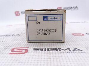 GE CR120HD47C15 Relay 5Pin 3A 120VAC