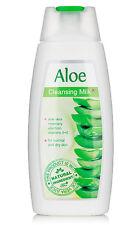 Leche limpiadora para Piel Normal y Seca, Aloe Vera