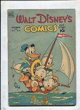 WALT DISNEY'S COMICS AND STORIES #108 (4.0) BARKS ART! 1949