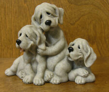 Quarry Critters #50102 PETIE, PEPE, POOCH,   PUPPY figurine, From Retail Store