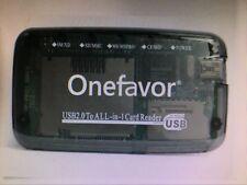 SM XD SD MMC MS CF MD Multi All in one Card reader Smart Media Card reader