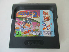 SONIC THE HEDGEHOG 2 - SONIC 2 - SEGA GAME GEAR - JEU GAME GEAR