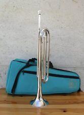 Trompette de cavalerie NAUTILE en mi bémol + embouchure + housse neufs