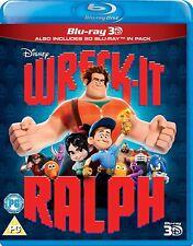 Wreck-It Ralph (3D + 2D Blu-ray, 2 Discs, Disney, Region Free) *NEW/SEALED*