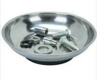 """SHIPS FAST! NEW Magnetic Parts Holder 4"""" Stainless Steel Magnet Bowl"""