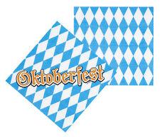 Oktoberfest Servietten Bavarian NEU - Partyartikel Dekoration Karneval Fasching