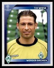 Panini Champions League 2008-2009 - Werder Bremen Tim Wiese No.180