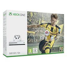 XBOX ONE S 500gb console-FIFA 17 Bundle bianco NUOVO OVP