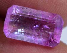 3.40 Ct Natural Utah Pink Bixbite Beryl Certified Top Quality Gemstone