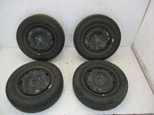 Reifen auf Stahlfelge 4x Winterreifen Kompletträder 165/70R14 81T VW  POLO