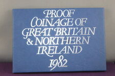 1982 Proof Coinage of Great Britain & Northern Ireland 8 Coin Set Royal Mint