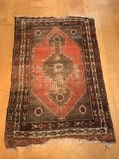 "Antique Hand Woven Turkish rug size 40""x 63"""