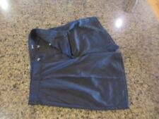 "Izod Men's Shorts Black Pleated front Golf Dress Casual Pockets 36 x L 9 """