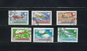 AVIATION OF AFGANISTAN- SOVIET  CIVIL AIRCRAFT   {6}  1984