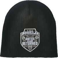 WWE THE SHIELD Justice Has Returned OFFICIAL BEANIE KNIT HAT MÜTZE KOPFBEDECKUNG