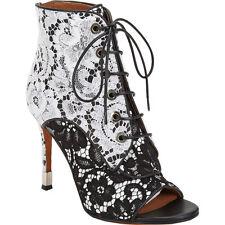 $1450 Givenchy Lace Ankle Boots Sandal Pump Peep Toe Shoe 40- 9.5 Bootie