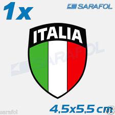 1x Italien Aufkleber Emblem 107 Italian Sticker Italia Bandiera Italy 4,5x5,5 cm