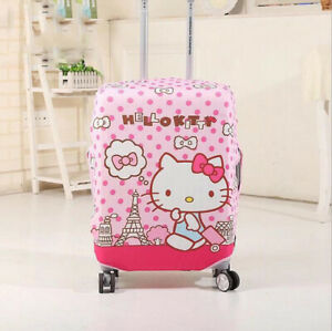 Cute My Melody Twin Stars Stitch Luggage Suitcase Cover Anti Dust Scratch Travel