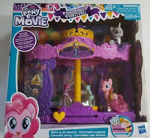 My Little Pony The Movie Friendship Festival Mare Y Go Round Figure Set Musical