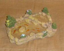 schöner Gartenteich Miniatur 1:12 - Puppenhaus