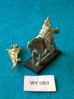 Warhammer Fantasy - Chaos - Marauder Horsemen Standard Bearer - Metal WF83