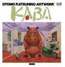 "OTOMO KATSUHIRO 1st Art Illustrations Book ArtWork ""KABA"" 1971-1989 NEW"