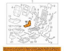 GM OEM Rear Seat-Cushion Shield 23452140