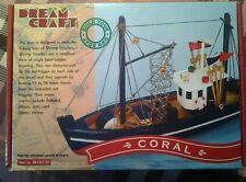 dream craft  modello barca legno Coral + vernice