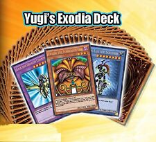 Yugioh Deck Yugi's Exodia Deck Mint English 1st YGLD* Sealed New Original Real