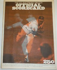 Official Scorecard Magazine Jim Palmer & Baltimore Orioles 1973 011315R2