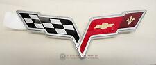 05-08 LS2 LS3 LS7 Corvette Front Bumper Cover Nose Emblem NEW GM
