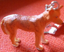 DINGO AUSTRALIAN ANIMAL SOUVENIR GIFT KEYCHAIN KEY RING Size 55mm