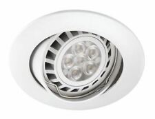 Sylvania Intro Led 6.5 con Empotrada,GU10,220Â ?? 240V,Regulable,Blanco Cálido,