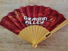 "HAND HELD ASAIN FAN FROM BARONA RESORT & CASINO'S  ""DRAGON ALLEY ' BRAND NEW !!"