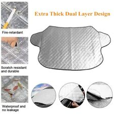 1*Windshield Snow Ice Cover Car Windshield Cover Sun Shade Protector Rain Guard